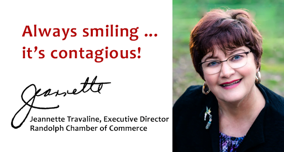 Jeannette Travaline Executive Director Randolph Chamber of Commerce