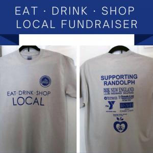 Eat, Drink, Shop Local T-Shirt Fundraiser