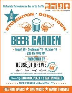 Stoughton Beer Garden 2021